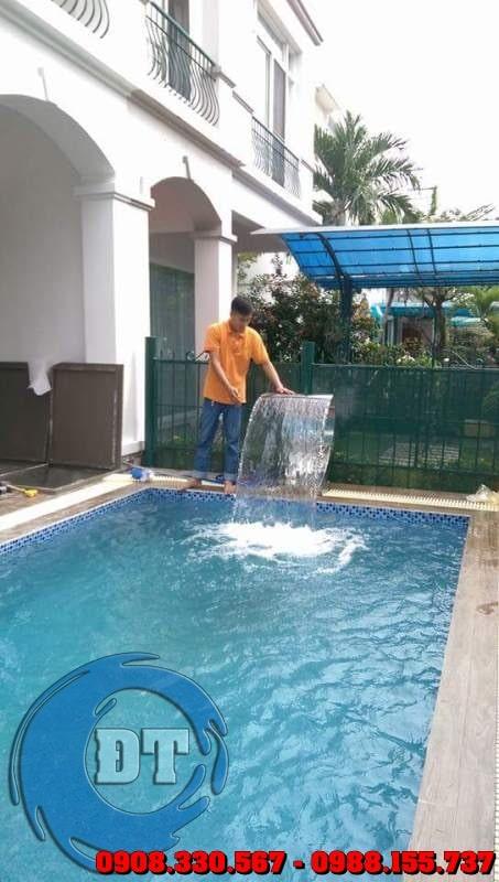 Công ty Đồng Tiến chuyên thiết kế - xây dựng hồ bơi
